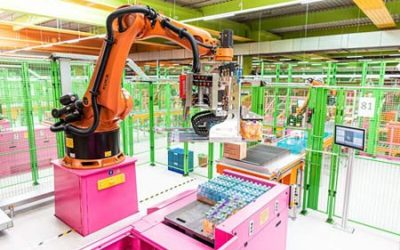 Mit Robotik und Software von Swisslog: dm eröffnet neues Verteilzentrum in Wustermark