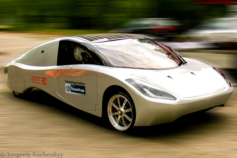 Solarauto, Elektroauto, Kucherskyy