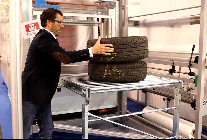 Messe-Reifen, Automatisierung