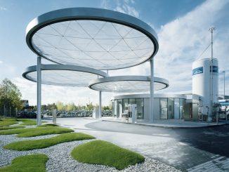 modernste Wasserstofftankstelle in Deutschland.
