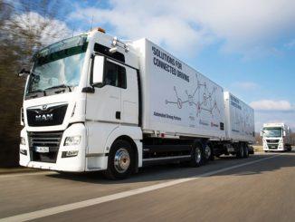 Autonomes Fahren, Logistik