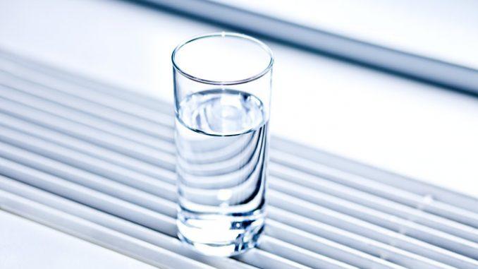 Wärmerückgewinnung Beispil mit Glas