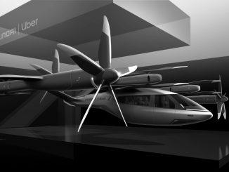 Modell des von Hyundai entworfenen Flug-Taxis S-A1