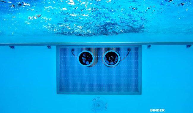 Turbinenschwimmanlage